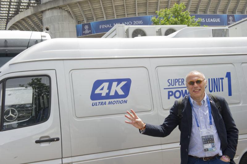 Elicottero Mediaset : Premium l italia produrrà real atletico per tv del mondo
