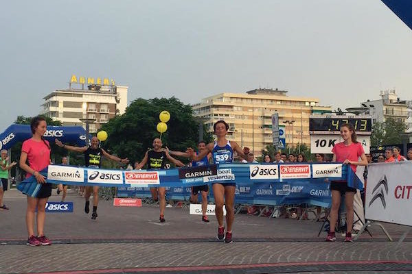 Garmin Running Tour 10K, a Riccione vincono Nicholas De Nicolò e Fausta Borghini