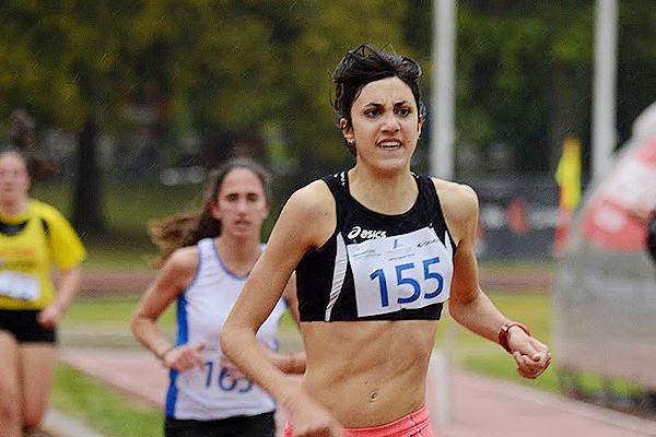 Cavalcata della campionessa italiana Eleonora Vandi nei 1500 al 16° Junior Meeting