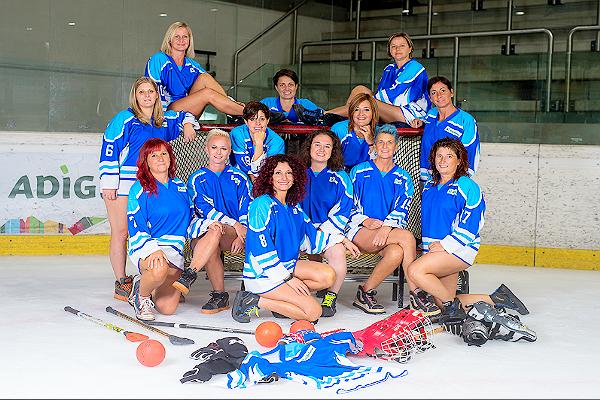 Cos'è il Broomball? Sport sul ghiaccio ma molto sexy. Ecco il calendario Geier 2018