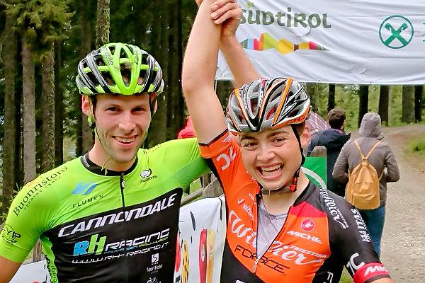 Wohlgemuth a braccia alzate a Naturno. L'altoatesino vince la up hill di Südtirol Cup