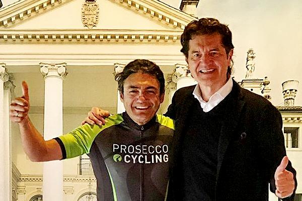 Chiappucci lancia la Prosecco CYCLING 2018 che scatta da Valdobbiadene