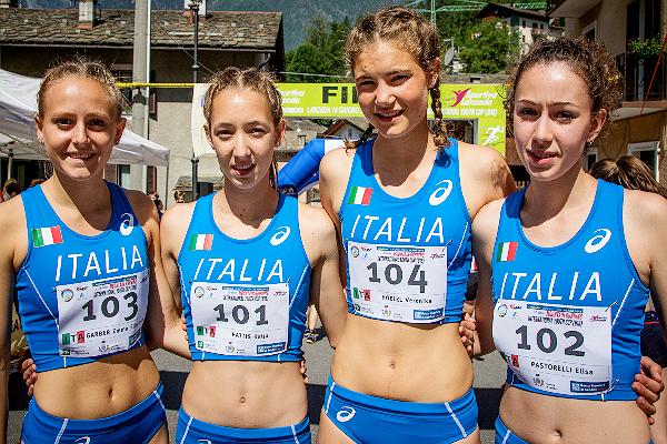 Corsa in Montagna, Azzurrine Under 18 in Cima al Mondo a Lanzada. Com'è andata