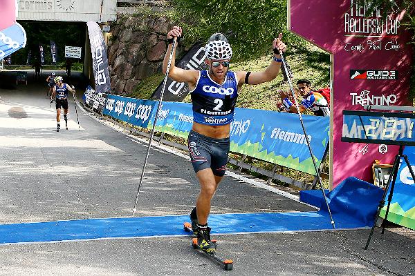 Gjerdalen superman alla Fiemme Rollerski Cup. Coppa Del Mondo a Norum e Prochazkova
