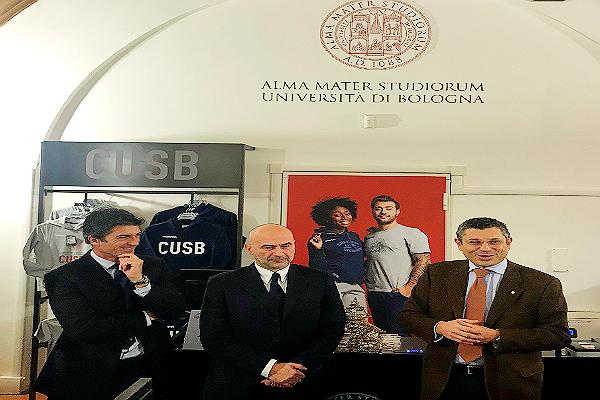 Lo sport nelle Università fa sul serio, Unibo store all'interno dell'Ateneo Bolognese