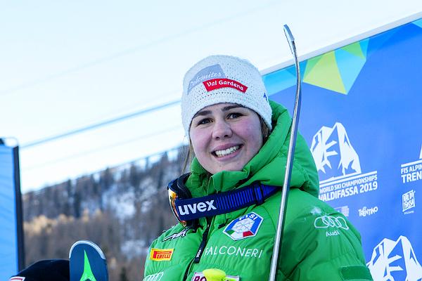 Nadia Delago si riscatta su La Volata, vince la discesa di Coppa Europa e va a Cortina