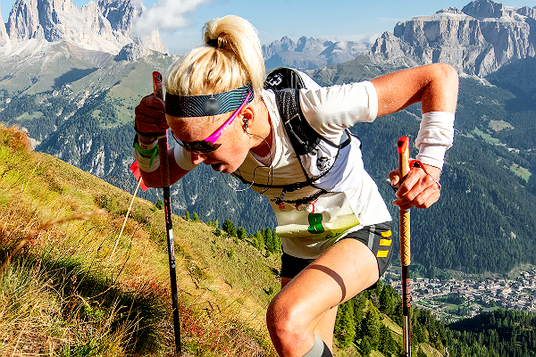 Fenomeno Victoria Kreuzer, vince Rosetta Verticale e DoloMyths Vertical Kilometer